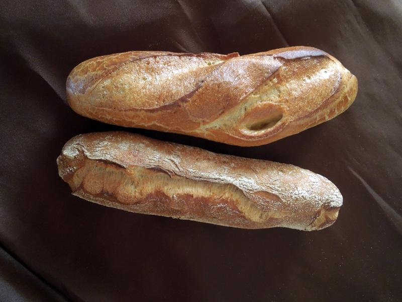 Sandwichbrötchen und Baguettebrötchen
