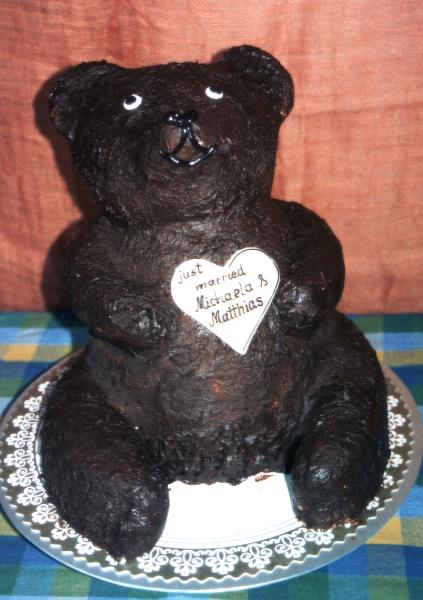 Hochzeitstorte Bär
