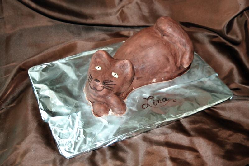 Geburtstagstorte Katze