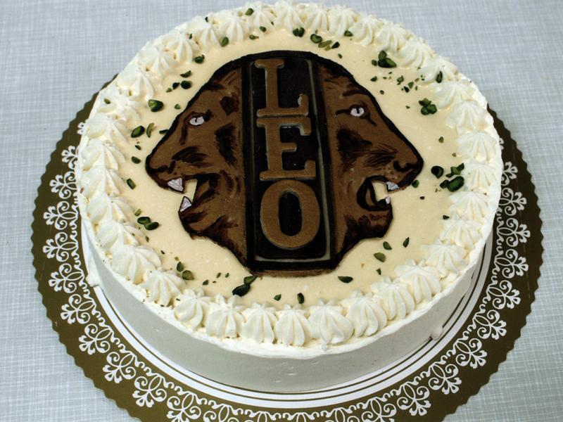 Geburtstagstorte Löwe